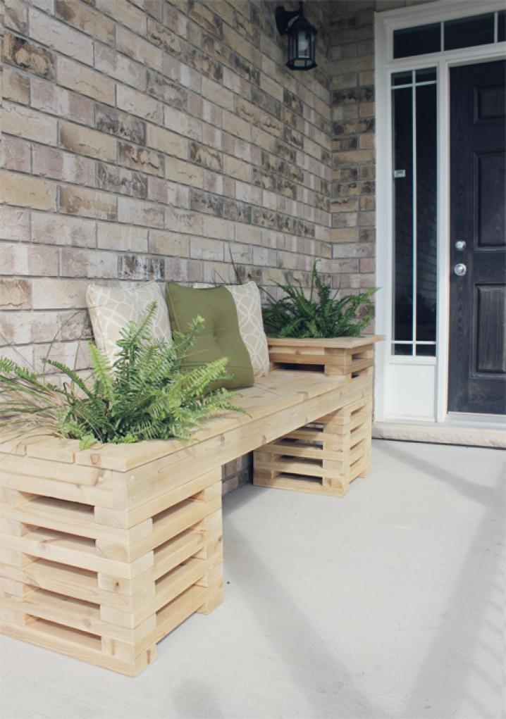 banc pour patio